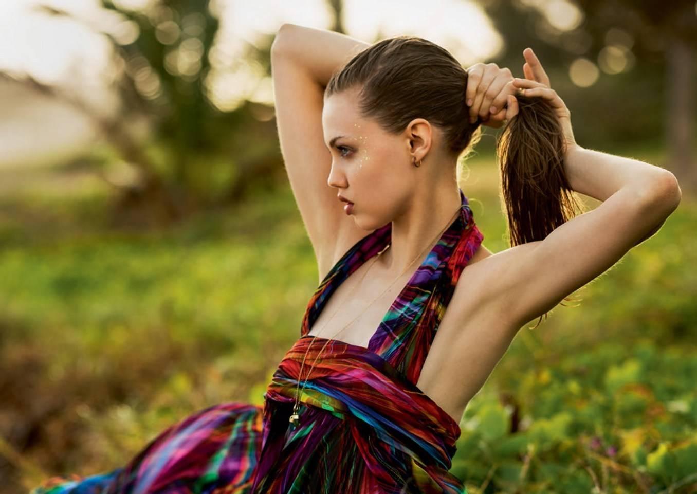 Lindsey Wixson By Gilles Bensimon For Elle Uk June 2017