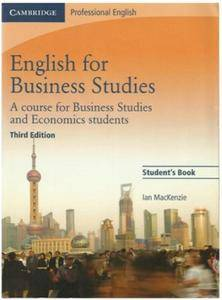 English for Business Studies, 3rd Edition (Repost)
