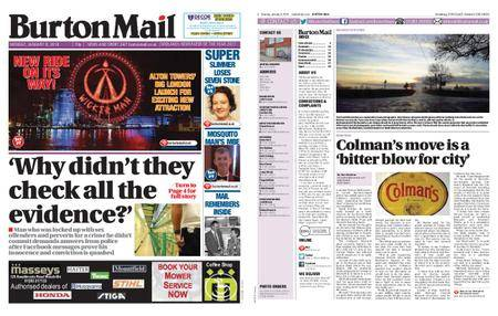 Burton Mail – January 08, 2018