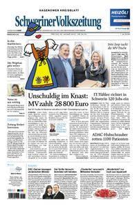 Schweriner Volkszeitung Hagenower Kreisblatt - 26. Januar 2018