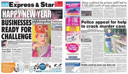 Express and Star City Edition – January 01, 2019
