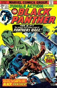 Jungle Action v2 017 1975 featuring Black Panther