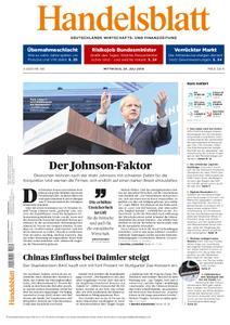 Handelsblatt - 24. Juli 2019