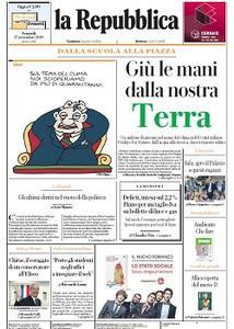 la Repubblica - 27 Settembre 2019