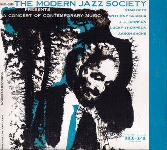 The Modern Jazz Society - Presents A Concert Of Contemporary Music (1955) {1999, Verve Elite Edition, Remastered}