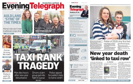 Evening Telegraph First Edition – January 02, 2019