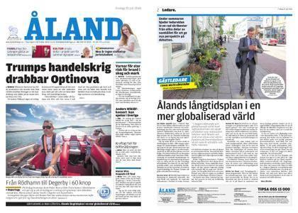 Ålandstidningen – 20 juli 2018