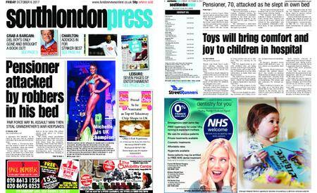 South London Press – October 06, 2017