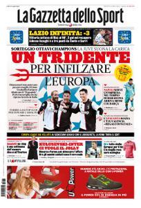 La Gazzetta dello Sport Roma – 17 dicembre 2019