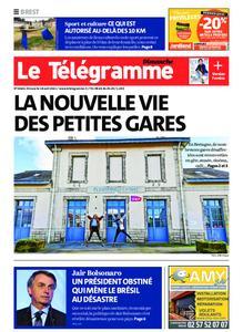 Le Télégramme Brest – 18 avril 2021