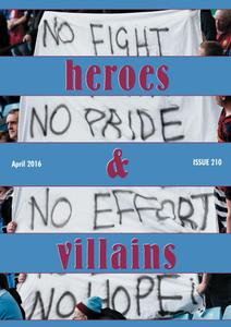 Heroes and Villains - April 2016