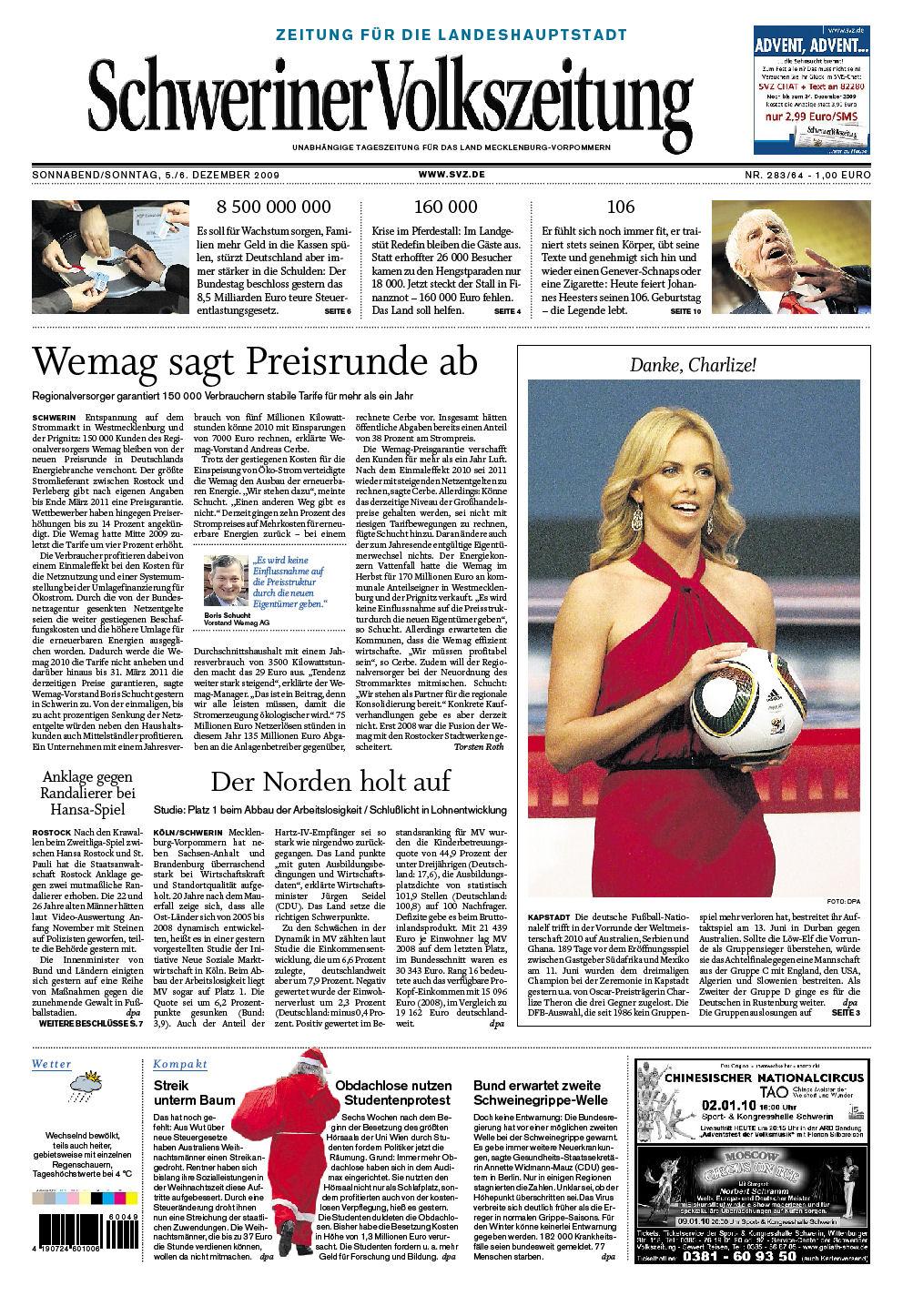 Schweriner Volkszeitung
