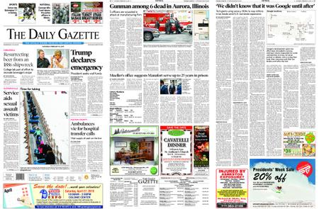 The Daily Gazette – February 16, 2019