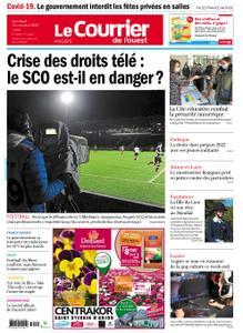 Le Courrier de l'Ouest Angers – 16 octobre 2020