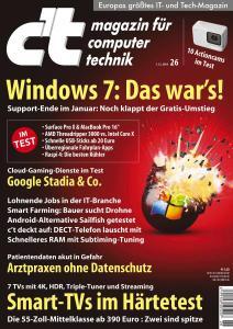 c't Magazin - 7 Dezember 2019