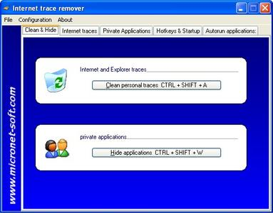 Internet Trace Cleaner ver. 1.0