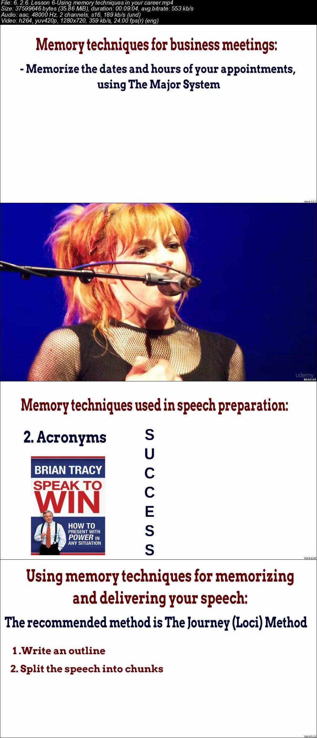 The Practical Memory Techniques Course