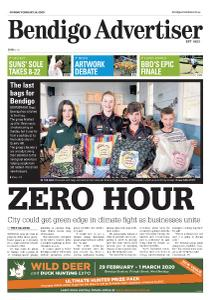 Bendigo Advertiser - February 24, 2020