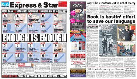 Express and Star City Edition – February 20, 2018