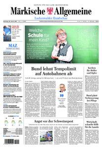 Märkische Allgemeine Luckenwalder Rundschau - 29. Januar 2019