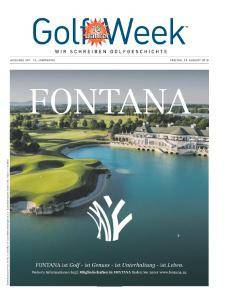 Golf Week - 24 August 2018