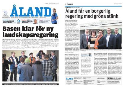 Ålandstidningen – 12 november 2019