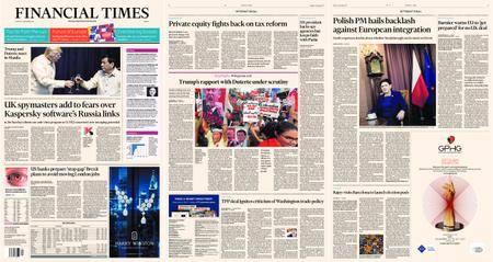 Financial Times Europe – 13 November 2017