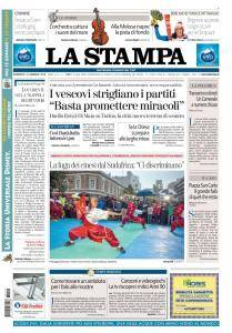 La Stampa Imperia e Sanremo - 14 Gennaio 2018