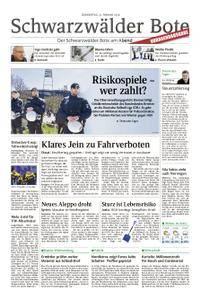 Schwarzwälder Bote Sulz - 22. Februar 2018