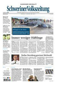 Schweriner Volkszeitung Hagenower Kreisblatt - 11. Juni 2018