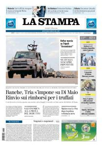 La Stampa Imperia e Sanremo - 5 Aprile 2019