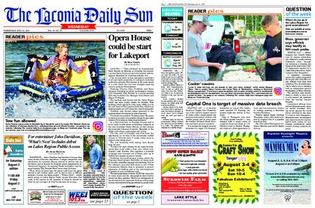 The Laconia Daily Sun – July 31, 2019