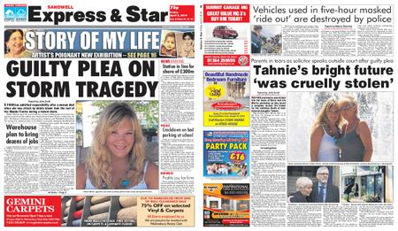 Express and Star Sandwell Edition – April 05, 2019