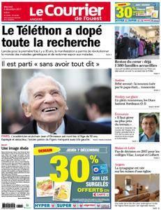 Le Courrier de l'Ouest Angers - 06 décembre 2017
