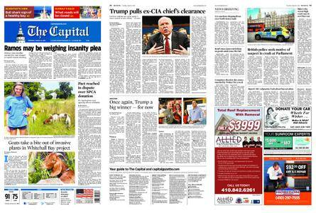 The Capital – August 16, 2018