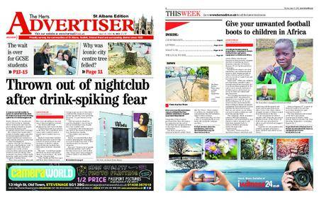 The Herts Advertiser – August 30, 2018