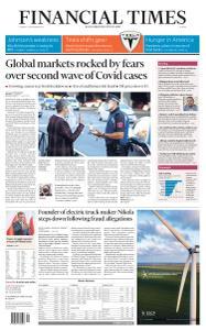 Financial Times Europe - September 22, 2020