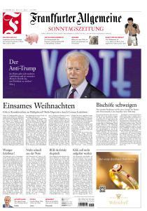 Frankfurter Allgemeine Sonntags Zeitung - 25 Oktober 2020