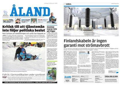 Ålandstidningen – 24 februari 2018