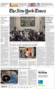 International New York Times - 4 May 2020
