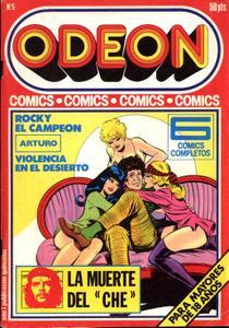 """Odeon 5 (de 86) Rocky El Campeón / Arturo / Violencia En El Desierto / La Muerte Del """"Ché"""""""