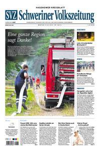 Schweriner Volkszeitung Hagenower Kreisblatt - 08. Juli 2019