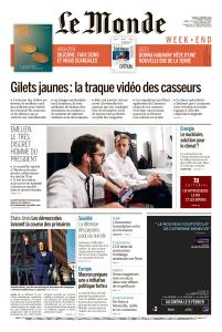 Le Monde du Samedi 2 Février 2019