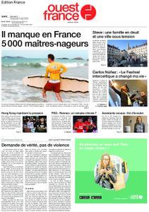 Ouest-France Édition France – 03 août 2019