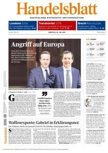 Handelsblatt - 05. Juli 2016