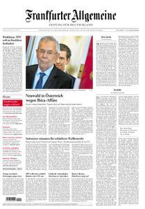 Frankfurter Allgemeine Zeitung F.A.Z. mit Rhein-Main Zeitung - 20. Mai 2019