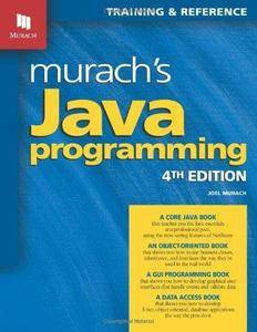Murach's Java Programming (4th edition) (Repost)