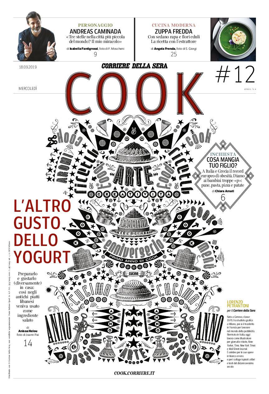 Corriere della Sera Cook – settembre 2019