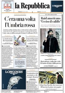 la Repubblica - 28 Ottobre 2019