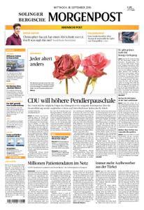 Solinger Morgenpost – 18. September 2019